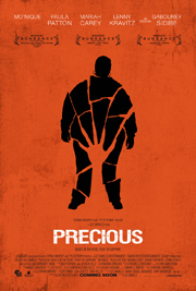 """Poster for Precious, the film based on the novel """"Push,"""" by Sapphire"""