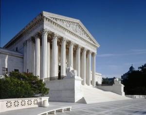 West façade of U.S. Supreme Court Building. (Franz Jantzen)